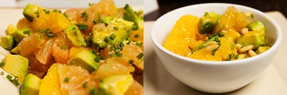 Grapefruit, Orange and Avocado Salad